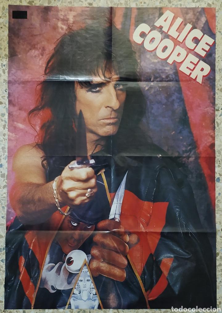 Discos de vinilo: Alice Cooper - Bed Of Nails 1989 Ed Holandesa con Póster - Foto 4 - 236640830