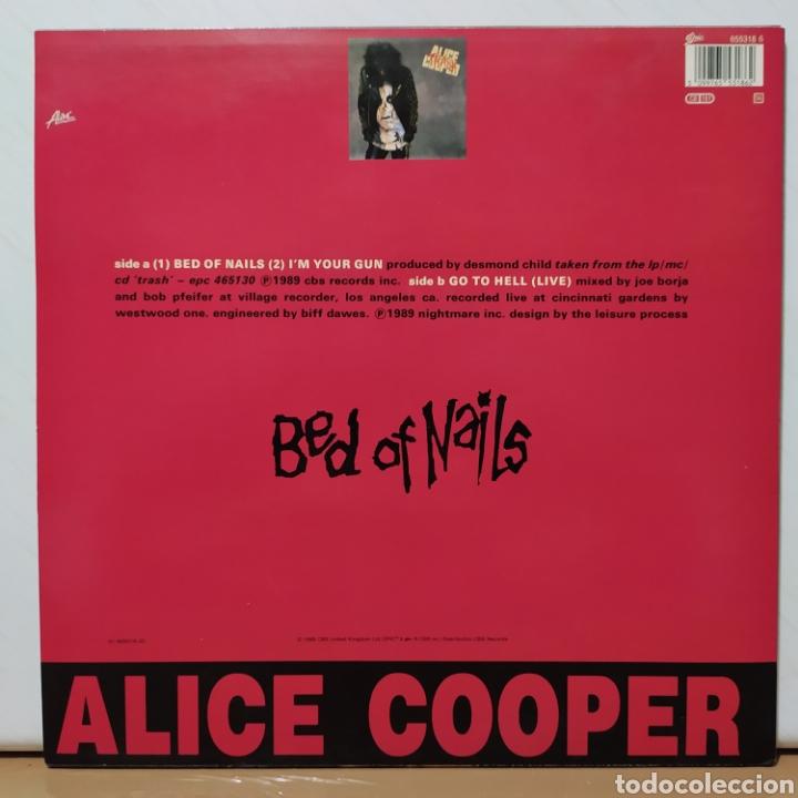 Discos de vinilo: Alice Cooper - Bed Of Nails 1989 Ed Holandesa con Póster - Foto 6 - 236640830