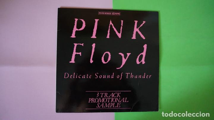 RAREZA MAXI SINGLE PINK FLOYD DELICATE SOUND OF THUNDER,3 TRACK PROMOTIONAL SAMPLE,EMI 052 20 3220 6 (Música - Discos de Vinilo - Maxi Singles - Pop - Rock - New Wave Internacional de los 80)