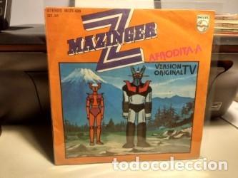SG MAZINGER Z : AFRODITA A (Música - Discos - Singles Vinilo - Bandas Sonoras y Actores)