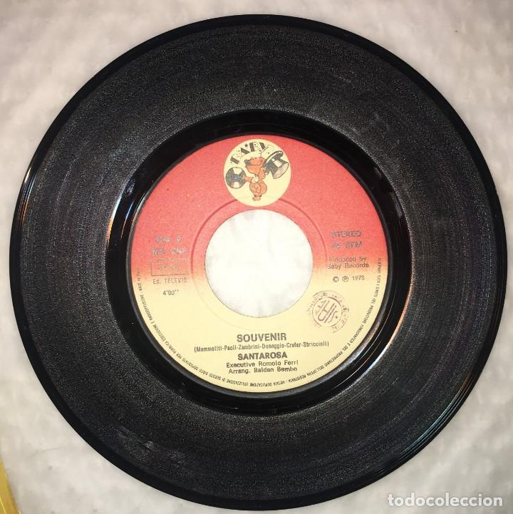 Discos de vinilo: SINGLE SANTA ROSA - SOUVENIR - SE FOSSI UN PITTORE - BABY RECORDS BR058 - PEDIDOS MINIMO 7€ - Foto 3 - 236647010