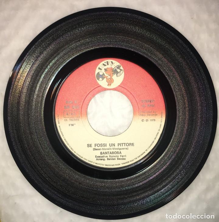 Discos de vinilo: SINGLE SANTA ROSA - SOUVENIR - SE FOSSI UN PITTORE - BABY RECORDS BR058 - PEDIDOS MINIMO 7€ - Foto 4 - 236647010