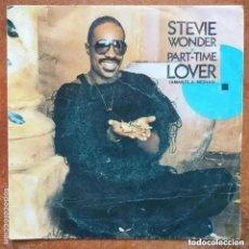 Discos de vinilo: STEVIE WONDER - PART-TIME LOVER (SG) 1985. Lote 236651920