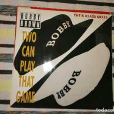 Discos de vinilo: LOTE 2 DISCOS. BOBBY BROWN-TWO CAN PLAY THAT GAME Y PAUL SIMPSON-WAL AWAY FROM LOVE. Lote 236659340