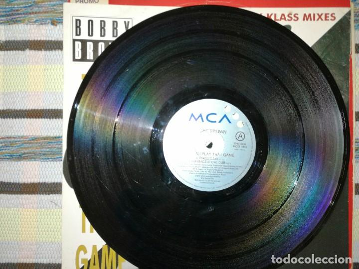 Discos de vinilo: Lote 2 discos. BOBBY BROWN-TWO CAN PLAY THAT GAME Y PAUL SIMPSON-WAL AWAY FROM LOVE - Foto 2 - 236659340