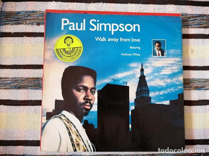 Discos de vinilo: Lote 2 discos. BOBBY BROWN-TWO CAN PLAY THAT GAME Y PAUL SIMPSON-WAL AWAY FROM LOVE - Foto 3 - 236659340