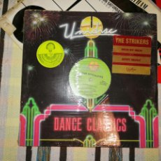 Discos de vinilo: LOTE 2 DISCOS. THE FINAL WORD- WANNA BE WITH YOU Y THE STRIKER, INCH BY INCH/BODY MUSIC. Lote 236659505