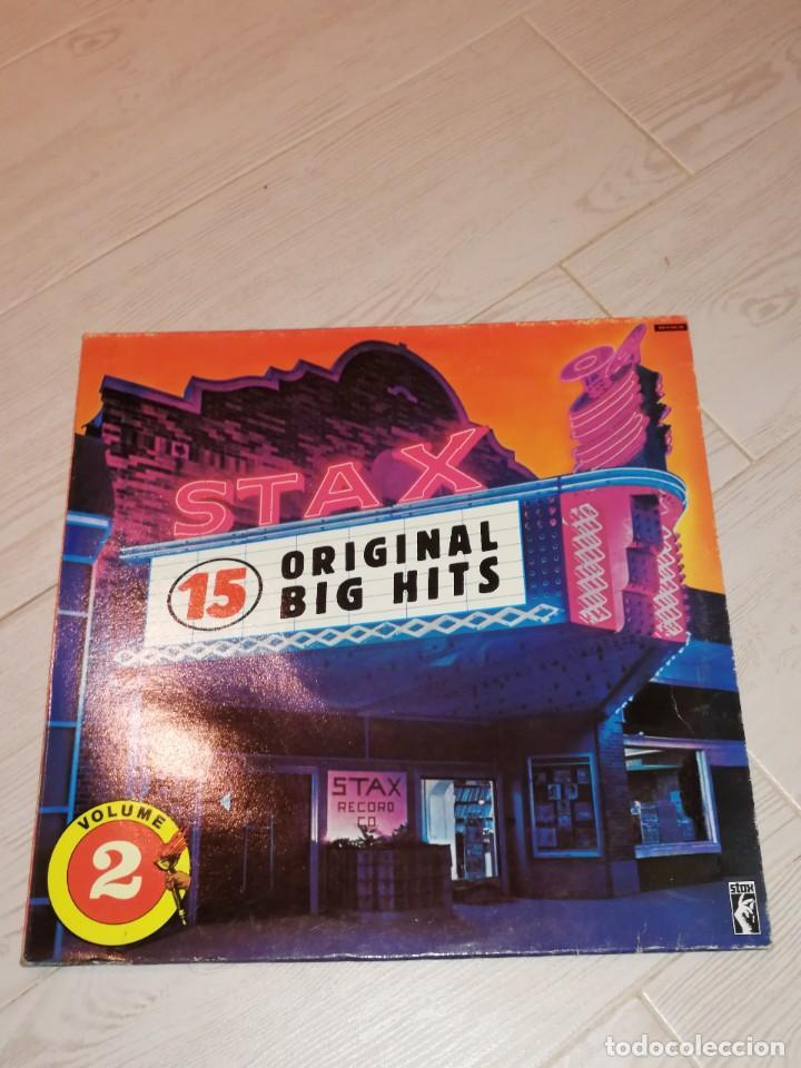 DISCO STAX. AÑO 1989. EDICIÓN ESPAÑOLA. VOLUMEN 2 (Música - Discos - LP Vinilo - Funk, Soul y Black Music)