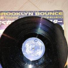 Discos de vinilo: BROOKLYN BOUNCE- THE THEME (OF PROGRESSIVE ATTACK). Lote 236661720