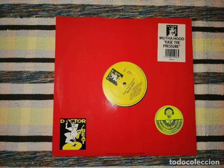 LOTE 2 DISCOS RAP/HIP HOP. MUTHA HOOD -TEAR THE ROOF OFF, Y RICHIE RICH'S-RAP ACADEMY (Música - Discos de Vinilo - Maxi Singles - Rap / Hip Hop)