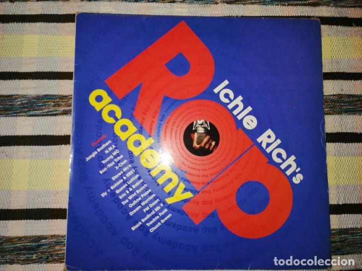 Discos de vinilo: LOTE 2 DISCOS RAP/HIP HOP. MUTHA HOOD -TEAR THE ROOF OFF, Y RICHIE RICHS-RAP ACADEMY - Foto 3 - 236662025