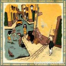 Discos de vinilo: RADIO FUTURA, CORAZÓN DE TIZA - MAXI-SINGLE ARIOLA SPAIN 1990. Lote 236662215