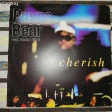 Discos de vinilo: LOTE 2 DISCOS RAP/HIP HOP. VANILLA ICE-PLAY THAT FUNKY MUCIS Y PAPA BEAR-CHERISH. Lote 236662785