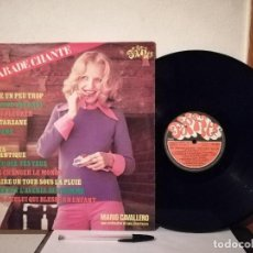 Discos de vinilo: ANTIGUO VINILO LP - HIT PARADE CHANTE - MIX - POP HITS. VOL 24- MARIO CAVALLERO. Lote 236670085