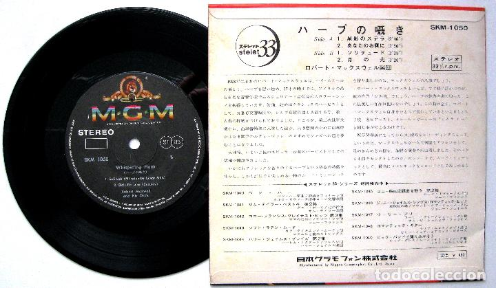 Discos de vinilo: Robert Maxwell And His Orchestra - Whispering Harp - EP MGM Records 1965 Japan BPY - Foto 2 - 236686445