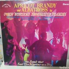 Discos de vinilo: JOHN BUNYAN'S PROGRESSIVE PILGRIMS–APRICOT BRANDY & ALBATROSS . LP VINILO. NUEVO. Lote 236690895