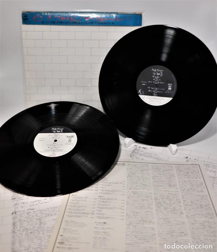 """PINK FLOYD - """"THE WALL"""" [FIRST JAPAN PROMO PRESS] - 2X LP ALBUM (DOPPELALBUM) - 1979/1979 (Música - Discos - Singles Vinilo - Pop - Rock Internacional de los 90 a la actualidad)"""