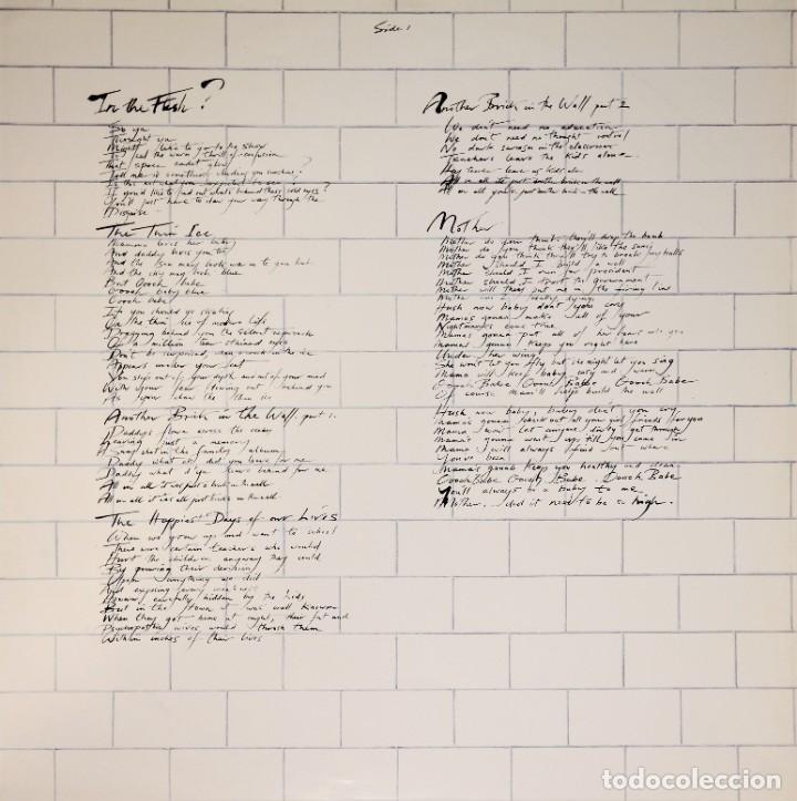 "Discos de vinilo: Pink Floyd - ""The Wall"" [First Japan Promo Press] - 2x LP Album (Doppelalbum) - 1979/1979 - Foto 5 - 236692130"