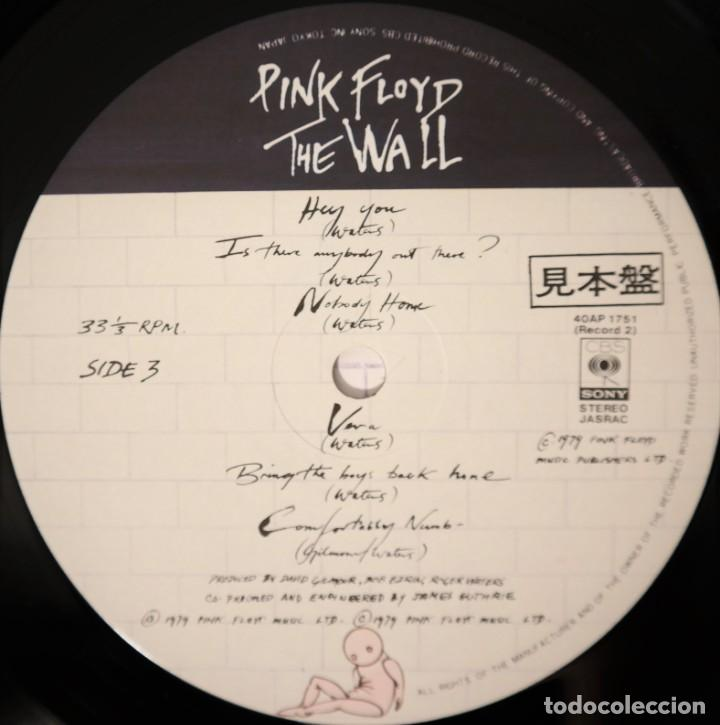 "Discos de vinilo: Pink Floyd - ""The Wall"" [First Japan Promo Press] - 2x LP Album (Doppelalbum) - 1979/1979 - Foto 16 - 236692130"