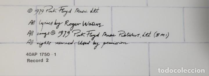 "Discos de vinilo: Pink Floyd - ""The Wall"" [First Japan Promo Press] - 2x LP Album (Doppelalbum) - 1979/1979 - Foto 23 - 236692130"