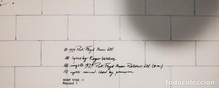 "Discos de vinilo: Pink Floyd - ""The Wall"" [First Japan Promo Press] - 2x LP Album (Doppelalbum) - 1979/1979 - Foto 24 - 236692130"