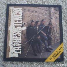 Disques de vinyle: LP. LA RESISTENCIA. EL ODIO Y LAS LAGRIMAS. AÑO 1985. BUENA CONSERVACION. Lote 236693635