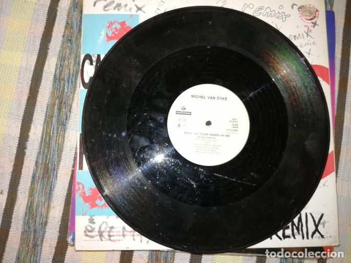 Discos de vinilo: LOTE 2 DISCOS TECHNO.CANDY FLIP, LOVE IS LIFE Y D.J.PIERRE, GET ON THE FLOOR - Foto 4 - 236698990
