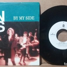 Disques de vinyle: INXS / BY MY SIDE / SINGLE 7 INCH. Lote 236700380