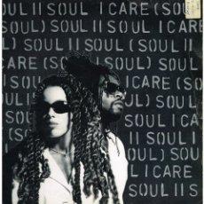Discos de vinilo: SOUL II SOUL - I CARE - MAXI SINGLE 1995 - ED. UK. Lote 236700445
