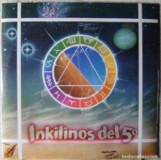 Discos de vinilo: INKILINOS DEL 5º.STRAWBERRY FUNK...MINI LP CON ENCARTE.....ROCK MADRID....COMO NUEVO. Lote 236702615