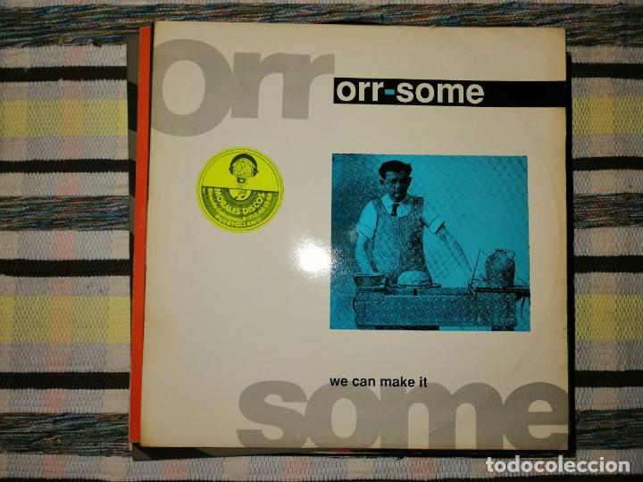 LOTE 2 DISCOS TECHNO. LINDA WESLEY,SPACER Y ORR-SOME, WE CAN MAKE IT (Música - Discos de Vinilo - Maxi Singles - Techno, Trance y House)