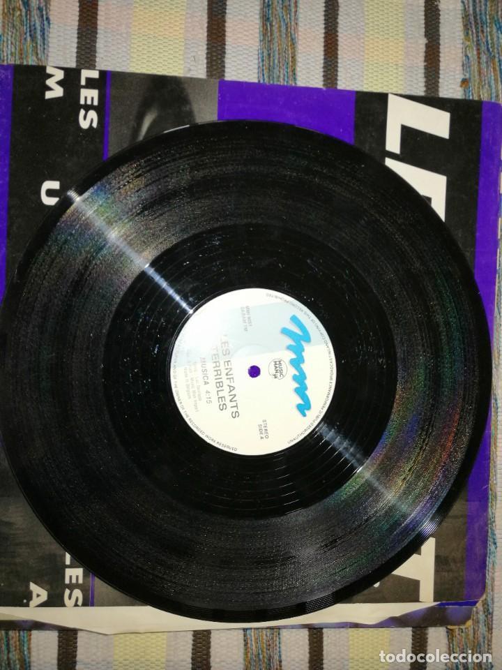 Discos de vinilo: LOTE 2 DISCOS TECHNO. LES ENFANTAS TERRIBLES, MUSICA Y ALBERTINO, YOUR LOVE IS CRAZY - Foto 2 - 236703830