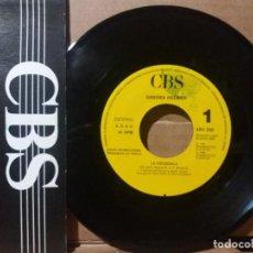 Discos de vinilo: SANDRA REEMER / LA COLEGIALA / SINGLE 7 INCH. Lote 236703855