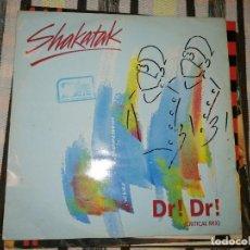 Discos de vinilo: LOTE 2 DISCOS POP ROCK. GIMMIE FIVE,JOVANOTTI Y SHAKATAK, DR!DR!. Lote 236704950