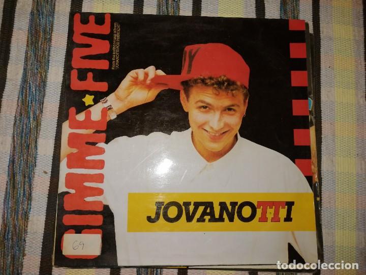 Discos de vinilo: LOTE 2 DISCOS POP ROCK. GIMMIE FIVE,JOVANOTTI Y SHAKATAK, DR!DR! - Foto 3 - 236704950