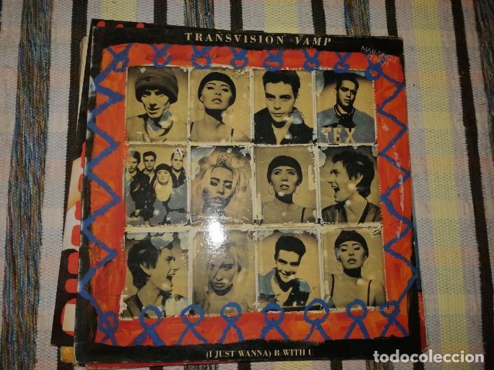Discos de vinilo: LOTE 2 DISCOS POP ROCK. BLOW MONKEYS,THE SPRINGTIME FOR THE WORLD Y TRANSVISION VAMP, (I JUST WANNA) - Foto 3 - 236705145