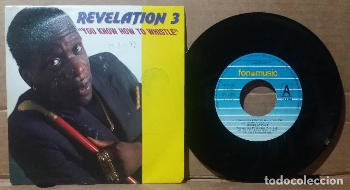 REVELATION 3 / YOU KNOW HOW TO WHISTLE ‎/ SINGLE 7 INCH (Música - Discos - Singles Vinilo - Rap / Hip Hop)