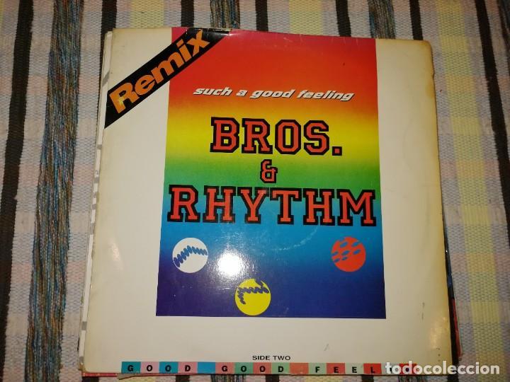 LOTE 2 DISCOS POP ROCK. DIMPLES D, SUCKER DJ Y BROS.&RHYTHM, SUCH A GOOD FEELING (Música - Discos de Vinilo - Maxi Singles - Pop - Rock Internacional de los 70)