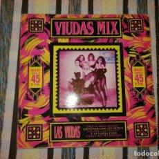 Discos de vinilo: DISCO LAS VIUDAS NEGRAS , LAS VIUDAS NEGRAS MIX. Lote 236707685