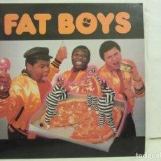 Discos de vinilo: FAT BOYS - FAT BOYS - 1988 - VEMSA - EDICION ESPAÑOLA - EX+/EX+. Lote 236708240