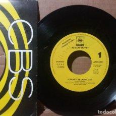 Disques de vinyle: ALISON MOYET / IT WON'T BE LONG / SINGLE 7 INCH. Lote 236714110