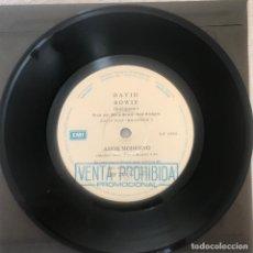 Discos de vinilo: DAVID BOWIE – AMOR MODERNO ARGENTINA PROMO. Lote 236721900