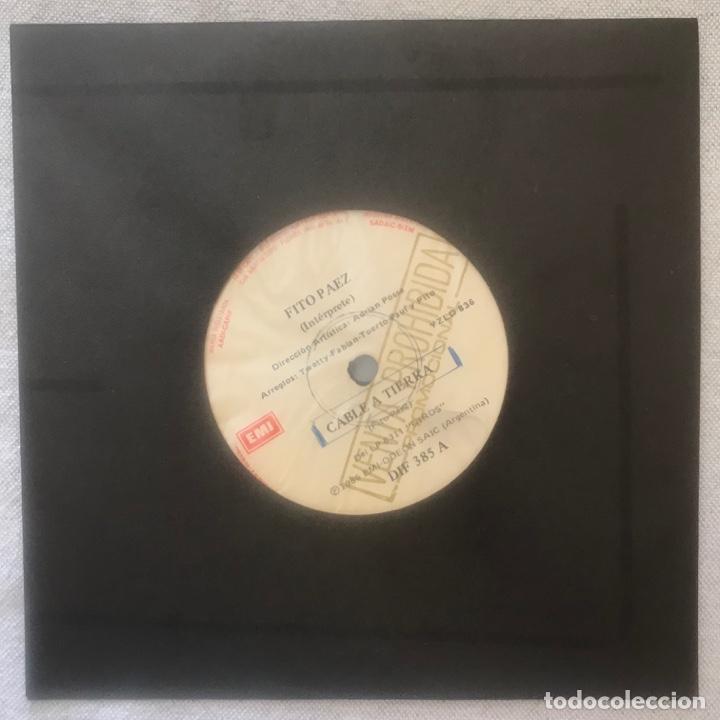 Discos de vinilo: Fito Páez – Cable A Tierra ARGENTINA - Foto 2 - 236722655