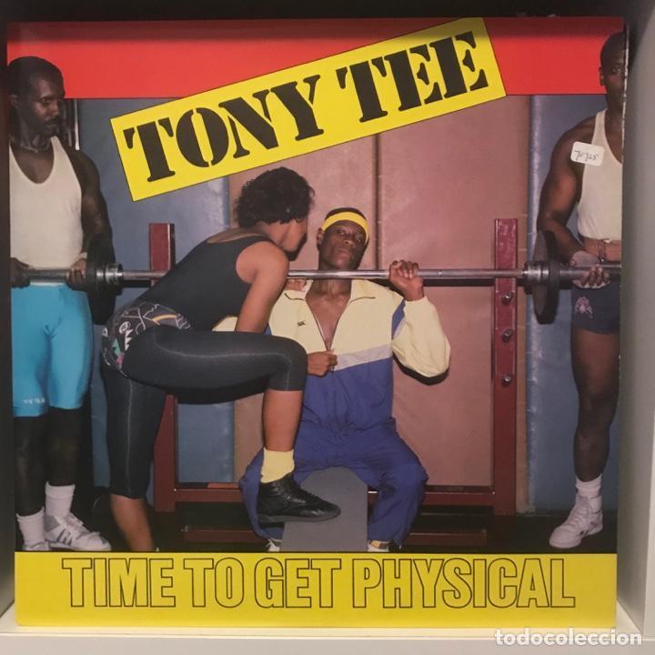 TONY TEE – TIME TO GET PHYSICAL (Música - Discos - LP Vinilo - Rap / Hip Hop)