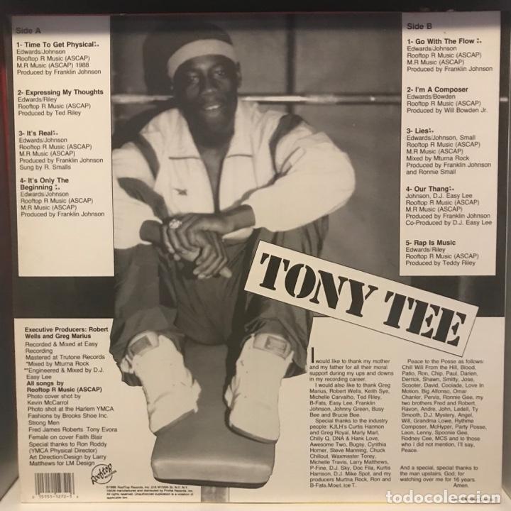 Discos de vinilo: Tony Tee – Time To Get Physical - Foto 2 - 236724800