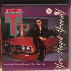 Discos de vinilo: ICE-T ‎– YOU PLAYED YOURSELF. Lote 236725395