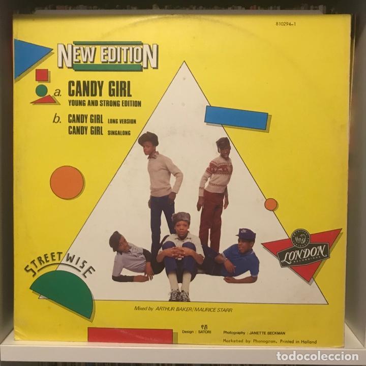 Discos de vinilo: New Edition – Candy Girl - Foto 2 - 236727850