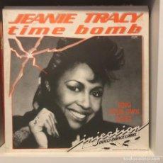 Discos de vinilo: JEANIE TRACY – TIME BOMB. Lote 236728335