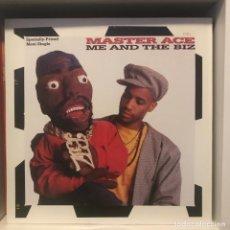 Discos de vinilo: MASTER ACE ME AND THE BIZ. Lote 236729440