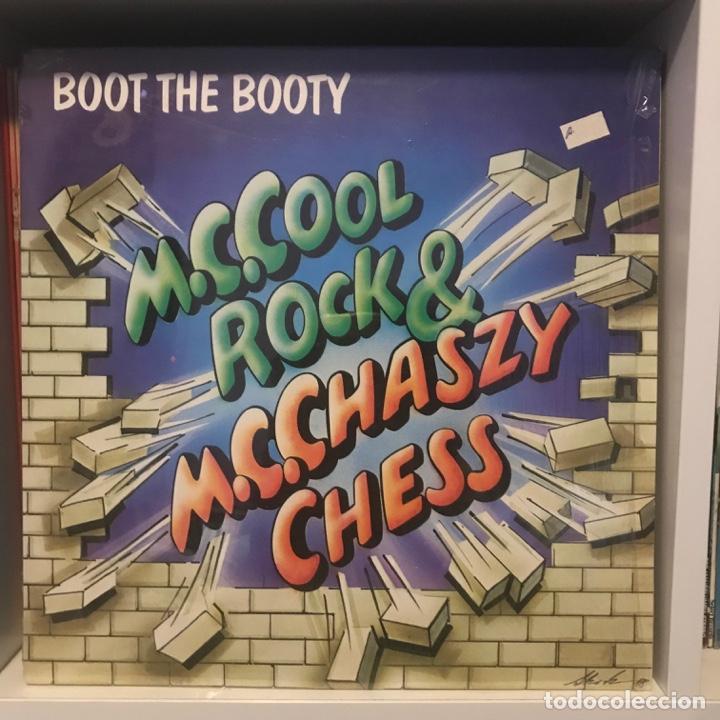M.C. COOL ROCK & M.C. CHASZY CHESS BOOT THE BOOTY (Música - Discos - LP Vinilo - Rap / Hip Hop)
